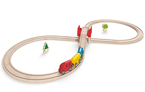 Hape-E3700-Circuit-de-Train-en-Bois-Coffret-en-8