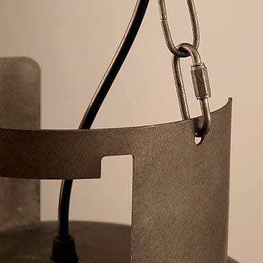 Moderne Kronleuchter Deckenleuchten Anhänger Amercian Countryside Vintage Gas Cover Pendelleuchte Fit für Wohnzimmer Esszimmer Schmücken Drop Light 3C Ce FCC Rohs für Wohnzimmer Schlafzimmer, MingXi -