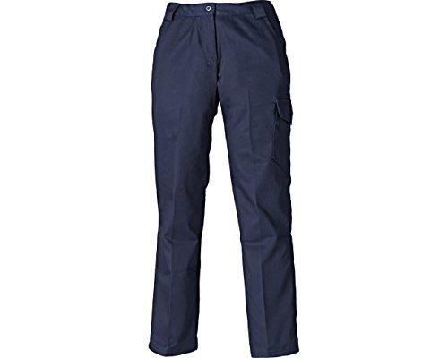 Dickies wd855-nb-10rot Hawk Damen Hosen, Größe 10, marineblau (Dickies Damen-hose Arbeit)