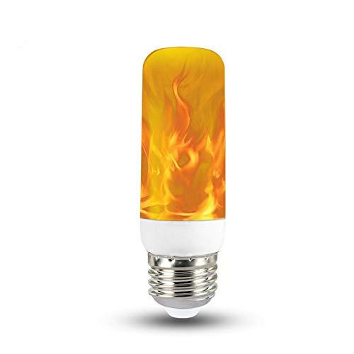 Bombilla de Llama, Bombilla LED con Efecto de Llama, Modos E14 /...