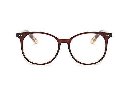 Fashion Glasses-brillenfassungen Großer Spiegel der Retro- Art und Weisegroßer Gesichtstrend...