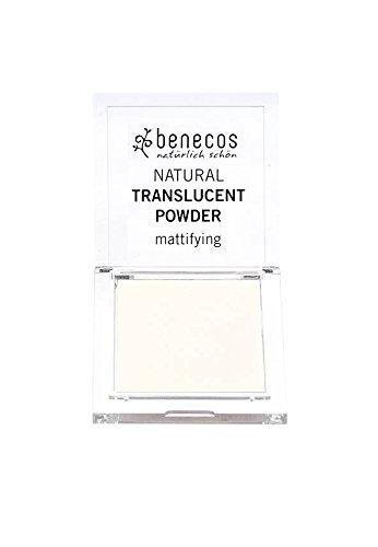 BENECOS - Cipria opacizzante ecobio - Trasparente - Fissa il trucco - 100% naturale - Senza sostanze chimiche nocive - Certificata BDIH - 6,5g