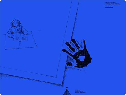 Schreibtischauflage für Linkshänder - Cobalt-Blau: Alle Klassenstufen (Linkshändigkeit)