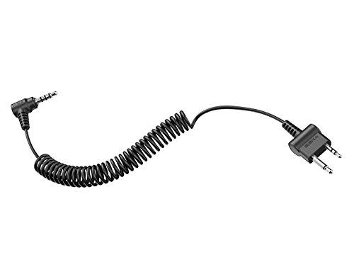 Sena TUFFTALK-A0117 2-Wege-Radio-Kabel Gerade Midland ICom Zwei-Stift Stecker für Tufftalk, -