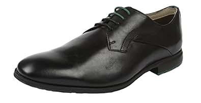 Clarks Men's Gleeson Walk Black Formal Shoes - 10 UK