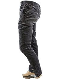 Bench Herren Hose, Einfarbig Grau Grau Small