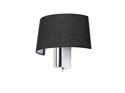 Este accesorio tiene un diseño clásico con un lado peculiar a ella. Disponible en negro o blanco, la lámpara de pared del hotel es ideal para cualquier habitación de estilo. El accesorio tiene un tallo grueso, dando el un aspecto más moderno apropiad...