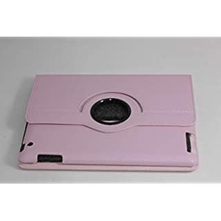 amara-global Smart Cover Case for iPad 3 & 2 360° + Protective Film + Stylus pink pink