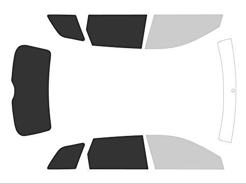 Variance Auto va_k-3-55|785|2103-1-46 Film Teinté pour Auto Kit Complet, Noir 70/05