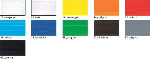 Preisvergleich Produktbild Bastel - Stegplatten 50x70CM,10PL.WEISS
