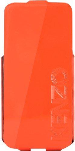 KENZO - Etui coque Kenzo orange glossy pour iPhone 5/5S