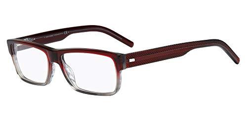Dior Homme Blacktie 180 Guilloche Bordeaux / Grey Kunststoffgestell Brillen, 55mm