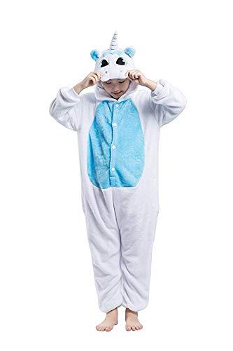 e Jumpsuits Tier Cartoon Schlafanzug Erwachsene Kinder Unisex Overall Kostüm Cosplay Sleepwear für Halloween Party ()