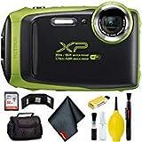FUJIFILM FinePix XP130 Digital Camera (Lime) Plus Bundle