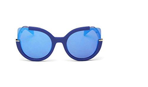 WANGMIN® Polarisierte Sonnenbrille-Weinlese-Art- Und Weisekatze-Augen-Sonne-Gläser Für Frauen Uv400 Qualität Übergroße Damen-Sonnenbrille-Frauen-Marken-Designer , C (Damen-unterwäsche Gucci)