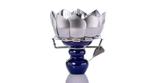 Littlefairy Shisha raccordi in Acciaio Inox Loto Fumo pentola Antivento Fumo Ciotola