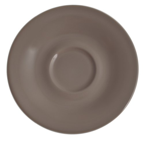 Kahla - Porcelaine pour les Sens 203501A72648C Pronto Colore Sous-Tasse à Expresso Taupe 12 cm