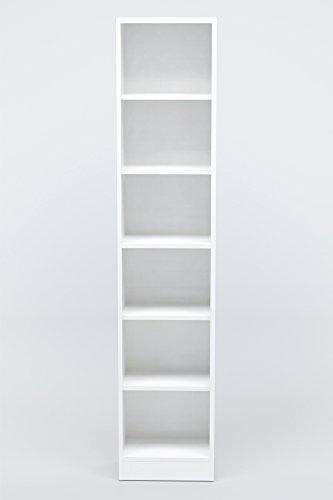 INFINIKIT Haven Bücherregal, schmal - Weiß - 2