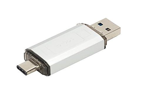 USB Type-C Stick 32GB | USB 3.1 & 3.0 | Datenspeicher | MacBook, S8 (4g Datenträger)