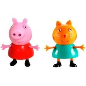 Peppa Pig - Figuras Peppa Pig y Candy Cat