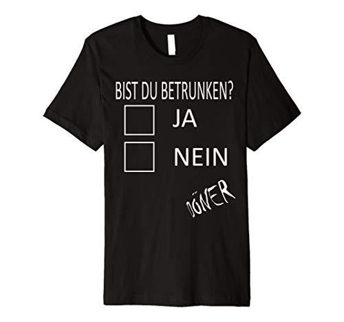 Halloween Party Döner Kostüm Funny Betrunken Lustiges Shirt