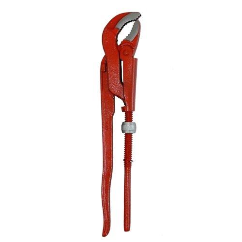 "Rohrzange 1"" 33cm Eckrohrzange Rohr Zange Wasserpumpenza nge, Länge ca. 330 mm"