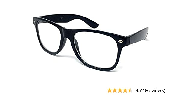 fa62deb9fd Black Frame Nerd Glasses