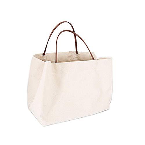 Rich-home Damen Tote Handtaschen Große Damen Canvas Umhängetasche Einkaufstasche für Frauen Laptop Reise -