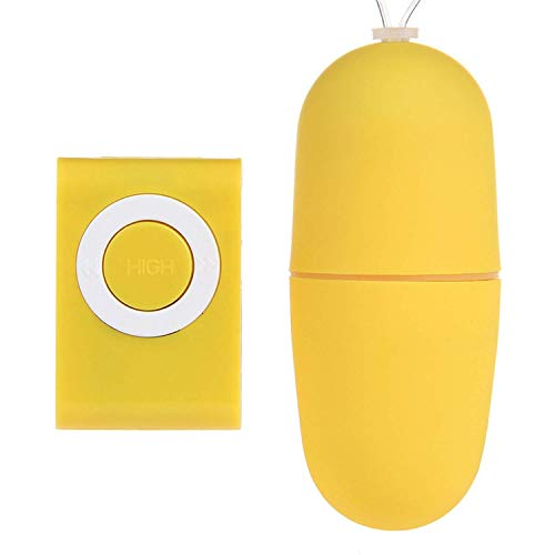 Xgsex BRH Sex Toy Brand Remote Control Vibrator 20 Vibration Modes Üben Vagina Ball Wireless MP3 Remote Adult Anal Plug Sex Spielzeug für Frauen T-Shirt, gelb