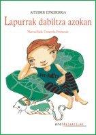 Portada del libro Lapurrak dabiltza azokan (Neskatilak)