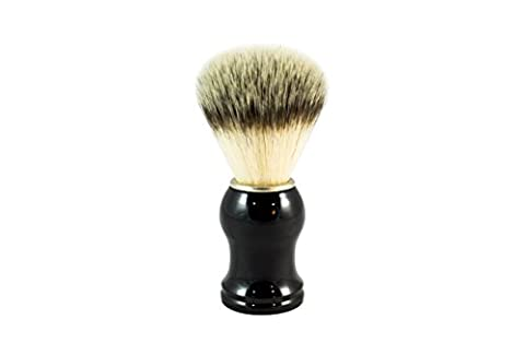 Synthetic Hair Shaving Brush by PimplePopper.co - 100% Vegan Friendly