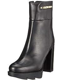 Love Moschino SCA.nod.gomma110 Vit.nappato, Botines para Mujer