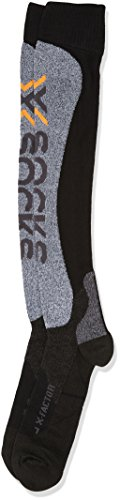 X-Socks Funktionssocken Factor Black/Grey Moulinè, 45/47