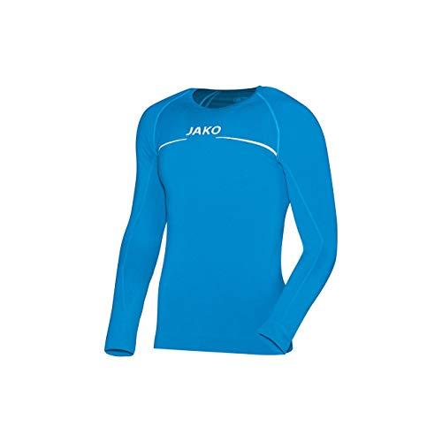 JAKO Longsleeve Comfort - Herren Langarmshirt,blau (JAKO blau), M (Fußball-zubehör)