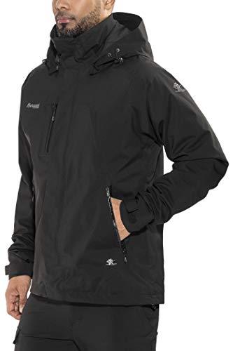 Bergans Herren Flya Insulated Jacke, Black, M