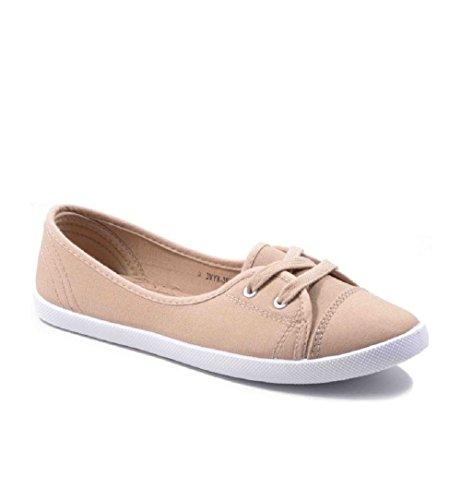 SexY Jumex Damen Sneaker Freizeitschuhe Turnschuhe Stiefel Ballerina Viele Modelle 3VYX-3955FB KHAKI