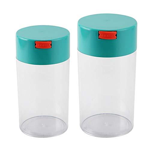 F Fityle 2 x Rund Frischhaltedose mit Deckel für Küche Organizer