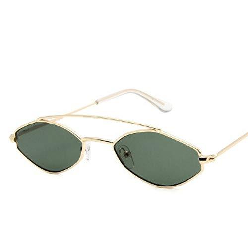 GJYANJING Gafas De Sol Nuevas Gafas De Sol Poligonales para...