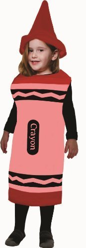 Red Crayon, Size Toddler 4 by Dress Up America