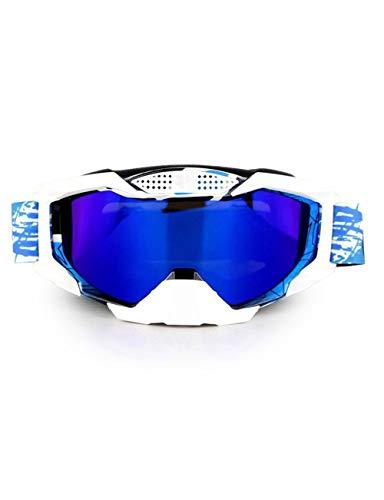 WYSTAO Schutzbrillen Neue Staubdichte Motorradausrüstung Offroad Helm Brille Outdoor Männer und Frauen Schutzbrillen Persönlichkeit Mode Reitbrille Four Seasons Windschutzscheibe (Color : 2)