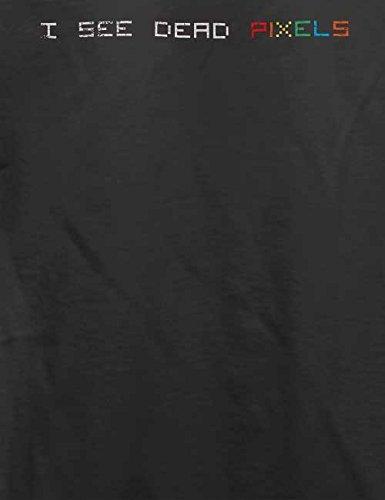 I See Dead Pixels Vintage T-Shirt Grau