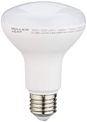 Müller-Licht 13W LED E27 Reflektor R80 (75W Licht) 2700K warmweiß 1050 Lumen A+ Reflektorlampe - Reflektor Lampe Licht