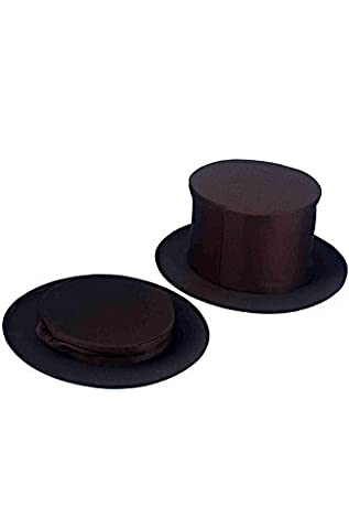 Rubie's Costume Co Collapsible Top Hat Black Adult