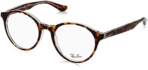 Ray-Ban Unisex-Erwachsene 0rx 5361 5082 51 Brillengestelle, Braun (Top Havana On Transparente)