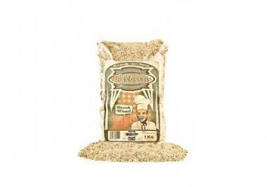 Axtschlag Räuchermehl Hickory 1 kg, mehrfarbig