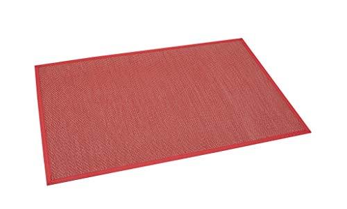 Estores Basic, alfombras de vinilo, Rojo, 80x150cm, alfombra antidesli