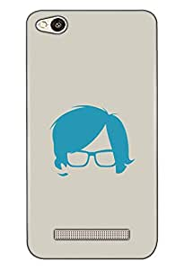Redmi 4A Mobile Back Cover For Redmi 4A; It Is Matte glossy Thin Hard Cover Of Good Quality (3D Printed Designer Mobile Cover) By Clarks