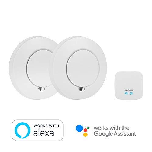 urity SH8-99103 Rauchmelder Smartwares Rauchwarnmelder PRO Series - Intelligentes Rauchdetektor-Set - Sichern Sie Ihr Zuhause ab ()