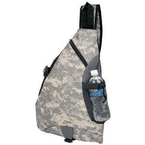 Extreme Pak Polyester (600D), Digital Camo wasserabweisend Sling-Rucksack (Sling Extreme Pak)