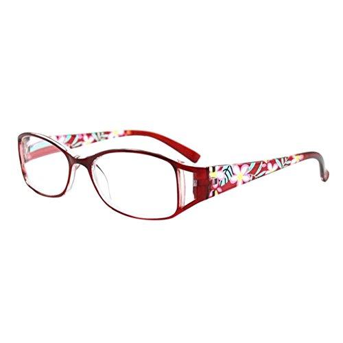Hzjundasi Mode Damen tragen Nudeln Gläser Ermüdungsfreie Lesebrille Stärke optional +1,00 bis +4,00